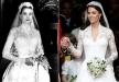 فستان زفاف كيت نسخةً عن فستان زفاف غريس كيلي؟