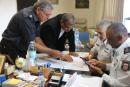رئيس بلدية عرابة عمر واكد نصار يبادر لجلسة عمل مع سلطة الاطفاء والانقاذ والاتفاق على إقامة محطة إطفاء بعرابة