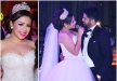 نجمة ستار أكاديمي شاهيناز تغني لعريسها في حفل زفافها