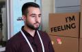 مؤتمر حاسوب: الطالب أمجد محاجنة  المؤتمرات مهمة لأنها تشبك بين الطلاب والمستثمرين