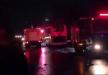 إغلاق شارع ميعامي بعد احتراق حافلة