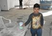 الطفل هشام نِعيم من ترشيحا يتبرع بحصالته الشخصية لمشروع بناء مسجد عمر بن الخطاب