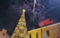 شفاعمرو تحتفل بإضاءة شجرة الميلاد