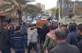 أمّ الفحم تشيّع ابنها احمد نعمان اغباريّة