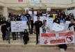 جلجولية: وقفة احتجاجية تضامنا مع درهكان ريان بعد اطلاق النار على منزلها