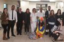 محفل عكا للبنائين الاحرار يزور مستشفى بوريا