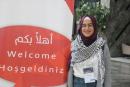 الطالبة لينا جودة من الجامعة العبريّة تشارك في فلسطين تخاطب العالم