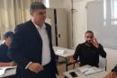 ام الفحم: د. سمير صبحي يدلي بصوته في مدرسة اسكندر