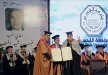 جامعة القدس تمنح رجل الأقتصاد منيب رشيد المصري الدكتوراة الفخرية في العلوم الإنسانية