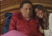 بعد إصابة زوج داليا البحيري بكورونا.. هذه حالة عادل إمام الصحية