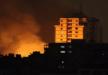 قصف اسرائيلي لشباناً فلسطينيين شرقي جباليا.. وأربع إصابات
