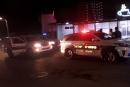 اطلاق النار على محل تجاري دون اصابات