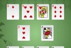 لعبة سوليتير الورق السريعه