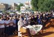 وسط غضب من أهالي قلنسوه تشييع جثمان المرحوم عبد الرحيم شلباية بعد اطلاق النار عليه يوم أمس