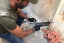 ضبط أسلحة وذخيرة بحملة للشرطة في مدينة طمرة واعتقال مشتبهين