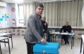 رئيس بلدية ام الفحم د. سمير محاميد يدلي بصوته للكنيست الـ24