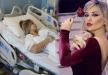 مادلين مطر تدخل المستشفى فور وصولها إلى لبنان