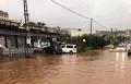 زلفة: الأمطار تغمر مدخل القرية