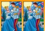 لعبة العثور على الاختلافات بين صورتي سندريلا