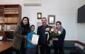مدرسة البصلية تكرّم الكاتب الشّفاعمري السيّد سليم نفّاع