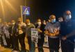 وقفة تضامنية امام مستشفى كابلان تضامنا مع الاسير ماهر الاخرس
