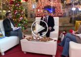 اشرف جبّور وكاتي كركبي في ستوديو كريسمس بكرا يتحدثان عن برنامج رواد للتعليم العالي