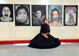 تحرير محمد من الطيرة ... قصة عشق لا تنتهي مع الرسم والفن