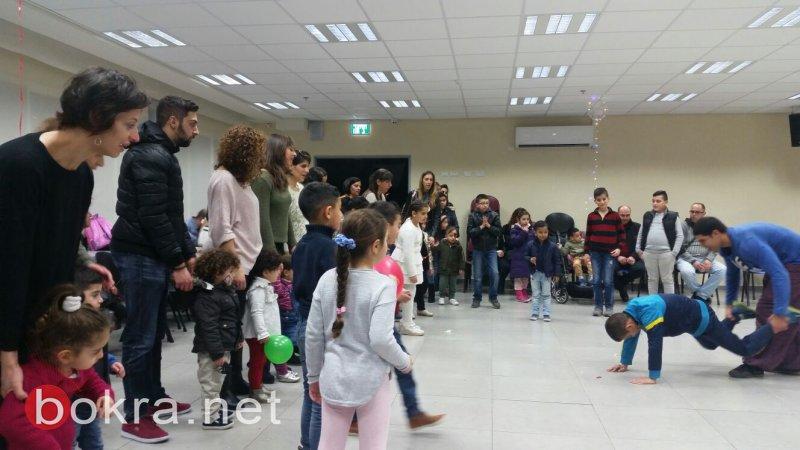 أهالي نتسيرت عيليت العرب يحتفلون بالأعياد المجيدة في مهرجان الكريسماس
