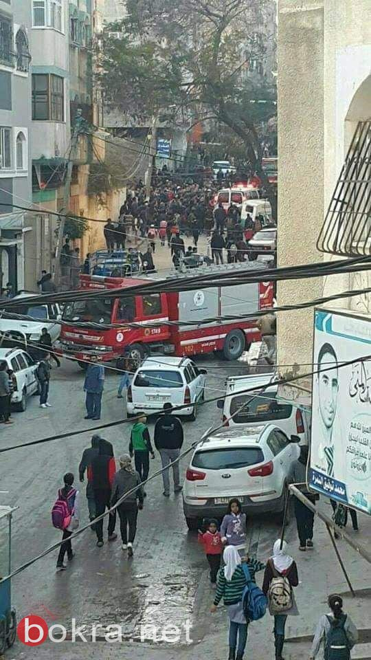7 قتلى و20 جريحاً بانفجار قوي يهز منزل وسط قطاع غزة