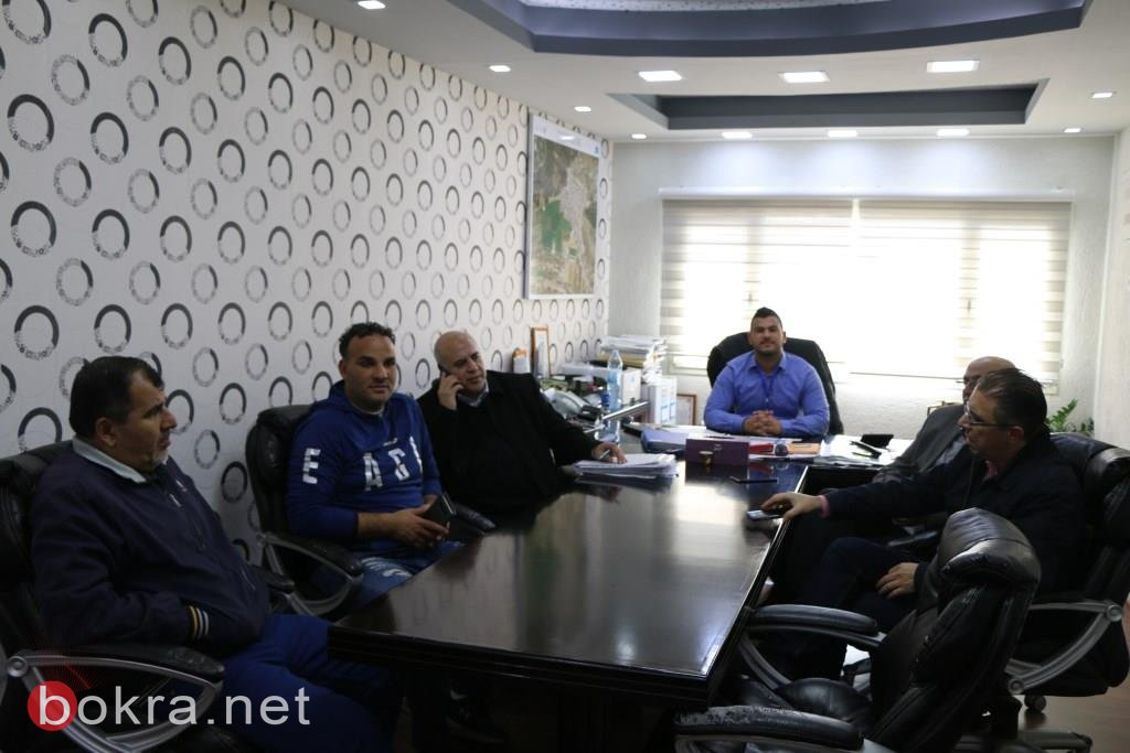 مجلس الطلاب وابناء الشبيبة البلدي دبوريه في يوم تبديل السلطات