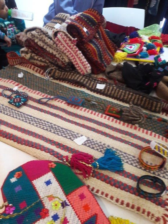 نساء عشيرتيّ الرحمة وعبدات يشاركن في معرض الابداعات والأشغال اليدويّة في زخرون يعكوف
