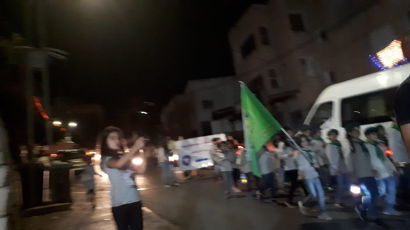 ام الفحم: المئات يشاركون بمسيرة رمضان الاولى الكشفيّة