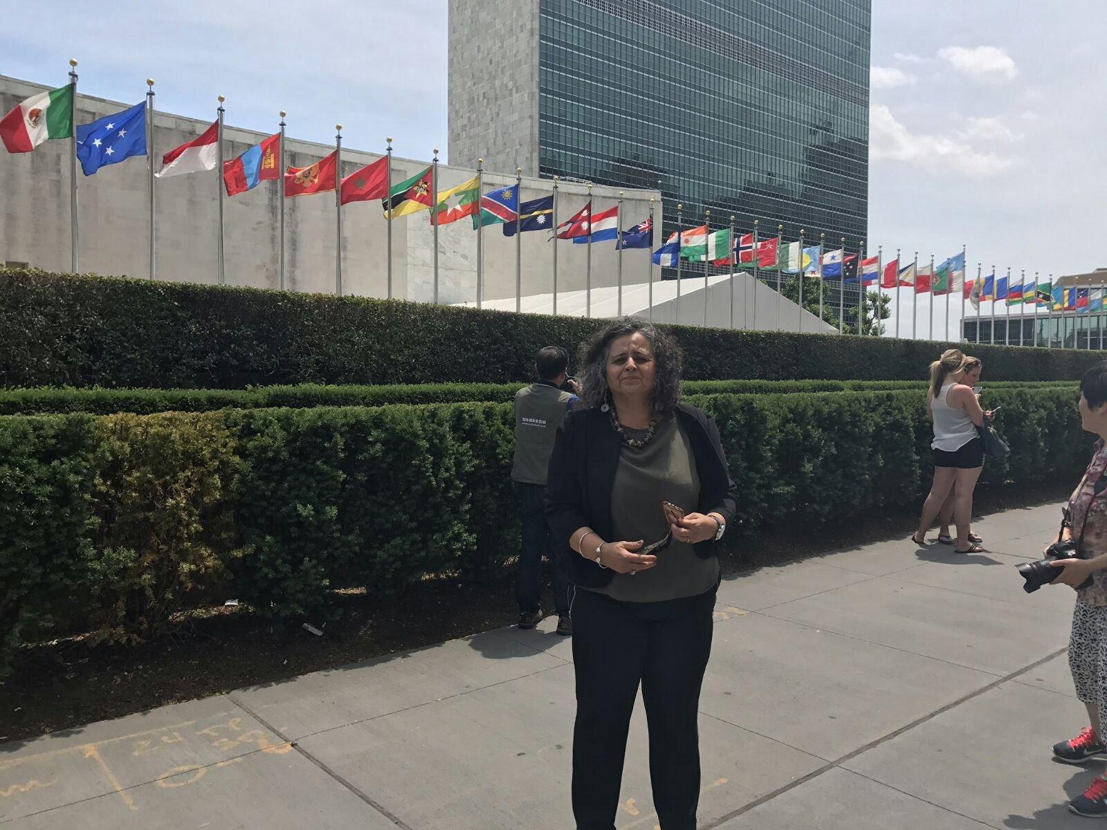 النائبة توما-سليمان تشارك في مؤتمر 50 عامًا على الاحتلال في الأمم المتحدة