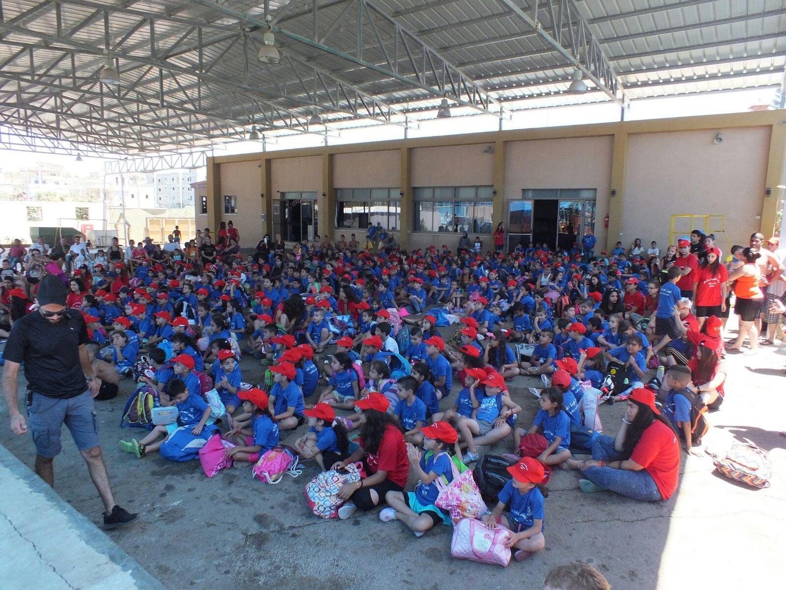 فعاليات ضخمة في المخيم الصيفي في يافة الناصرة