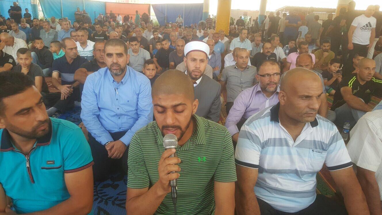 صلاة العيد في ام الفحم بمشاركة واسعة