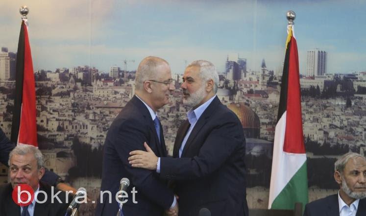 غدا الاثنين سيكون يوما تاريخيا بتحقيق المصالحة بين حماس وفتح