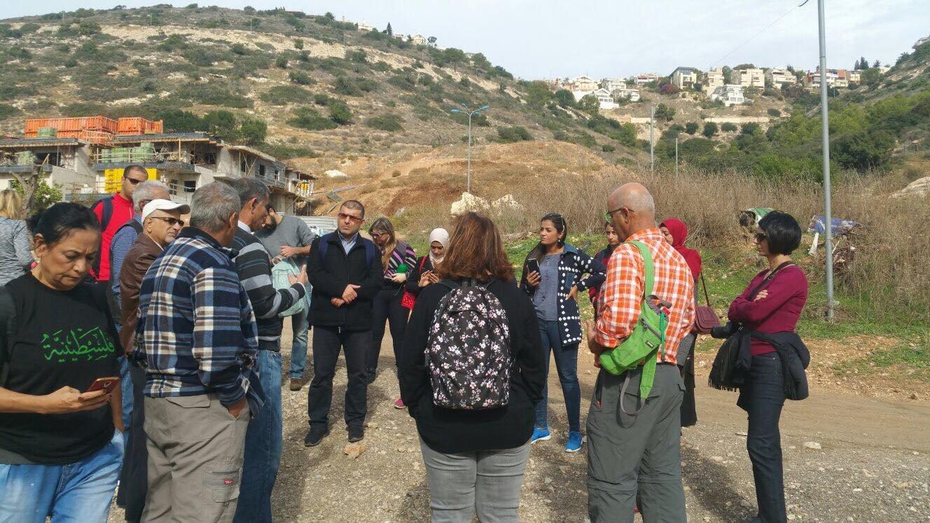 ضمن مشروع نساء على درب العودة : جولة لنساء حيفا والمنطقة في قرية طيرة حيفا المُهجرة