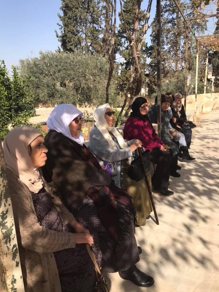 ضمن مشروع نساء على درب العودة : جولة لنساء يافة الناصرة في قرية المجيدل المُهجرة