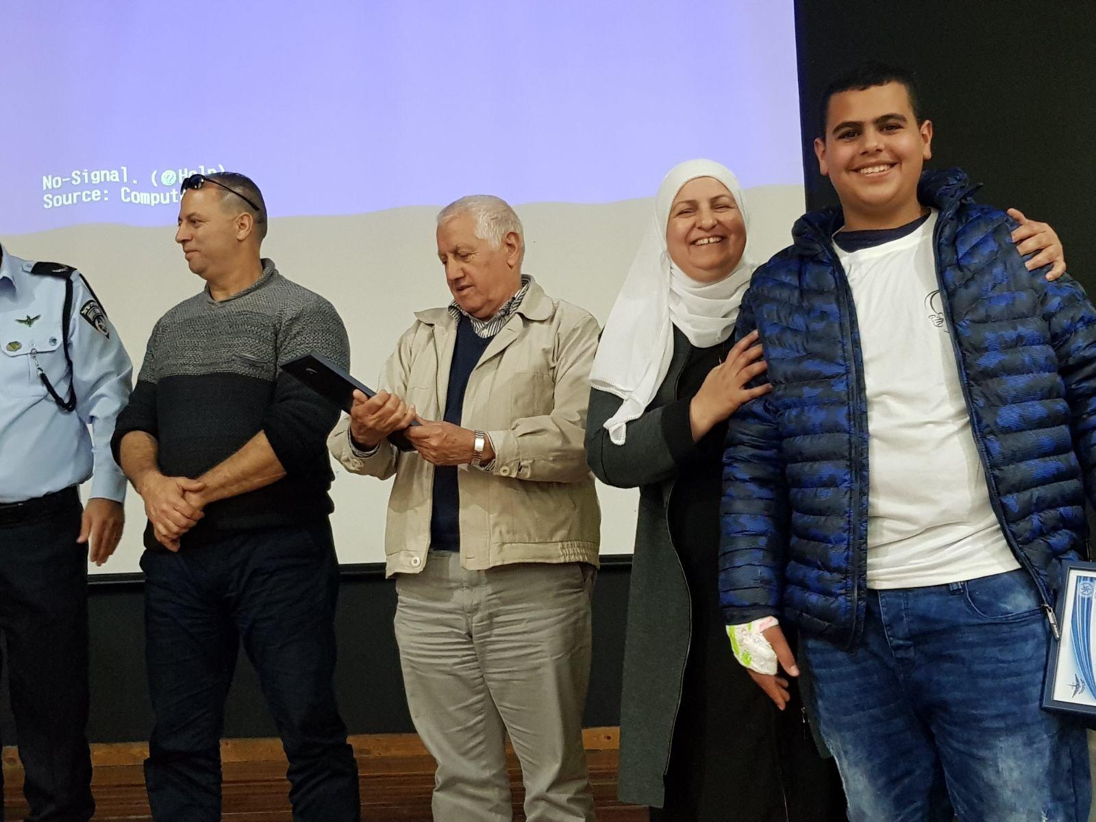 الشبلي أم الغنم: اختتام مشروع ميلا وتكريم المشاركين وسط أجواء بهيجة