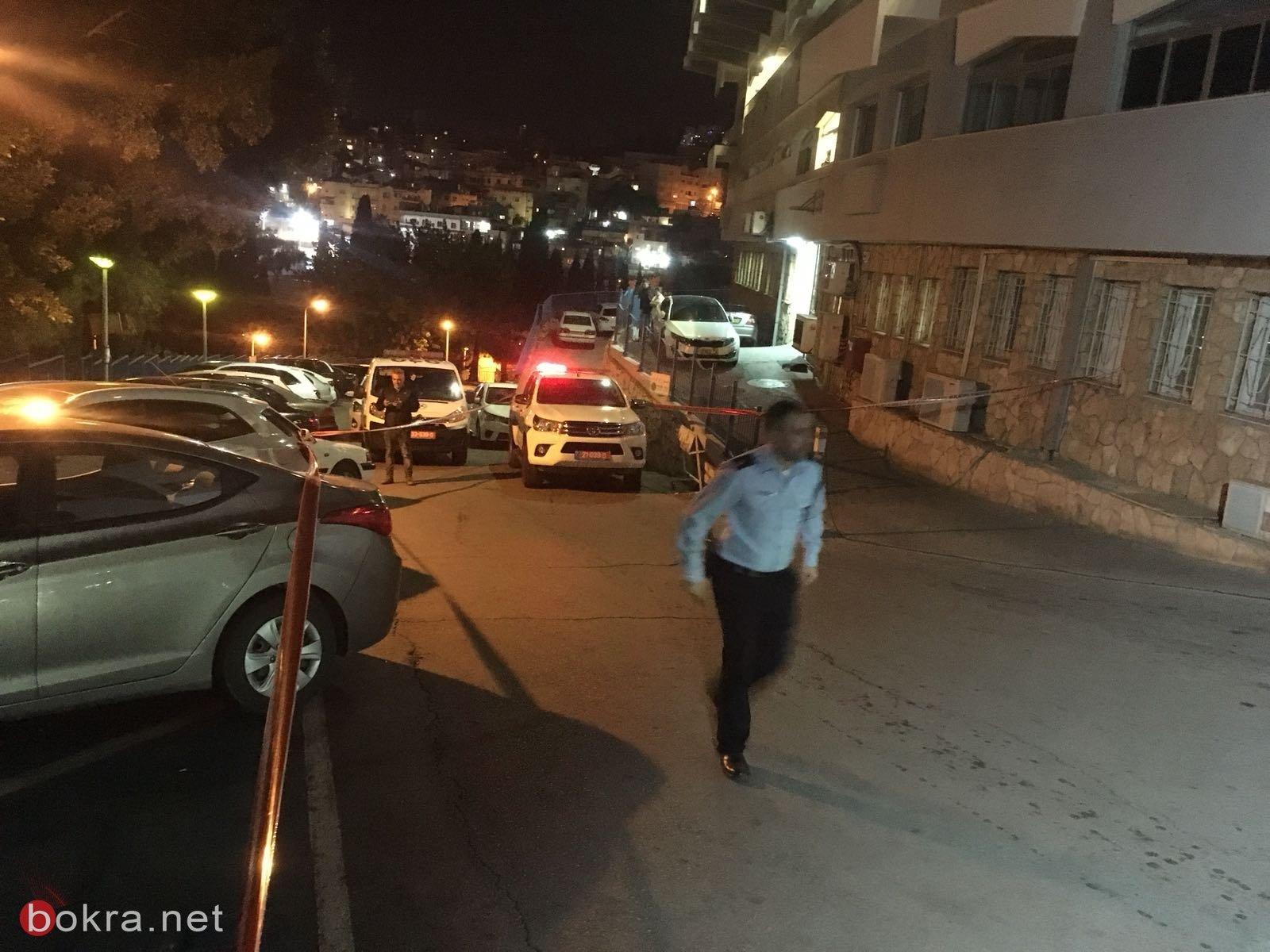 الناصرة: مصدر طبي يتحدث عن حالة حارس المستشفى الذي أصيب أمس