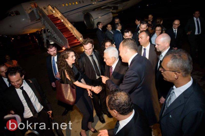 الرئيس يصل واشنطن للقاء نظيره الامريكي ترامب