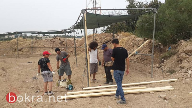 بدء توافد الجماهير لأراضي قرية الكابري