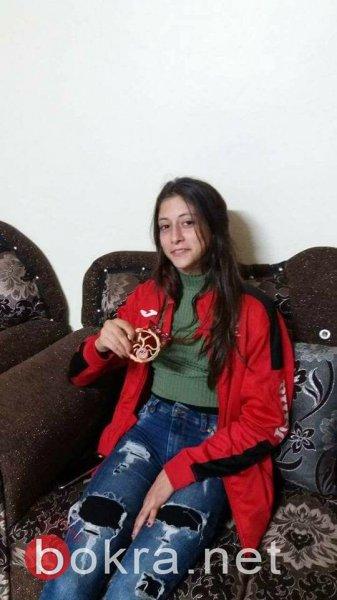 ميس سعيد من دير الأسد .. بطلة