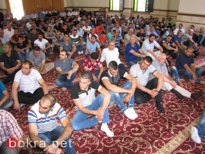 فضائل رمضان خطبة الجمعة بجامع عمر المختار يافة الناصرة
