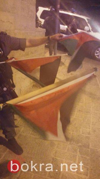 35 اصابة في القدس خلال جنازة الغريق ابو غربية