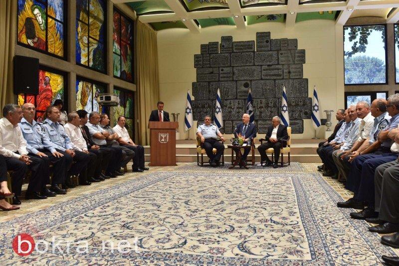 باجتماع ريفلين مع الشرطة ورؤساء السلطات المحلية العرب: الاتفاق على تعزيز العلاقات وتحسين مستوى الخدمات