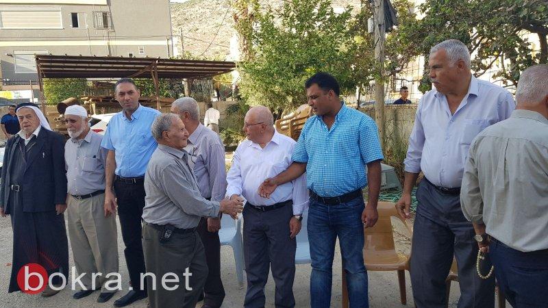 كفر مندا: عقد راية الصلح بين عائلتي زيدان وعبد الحليم