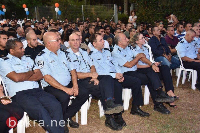 حكروش  في حفل تكريم افراد الشرطة العرب:   حقك أمٓلك هو الراية