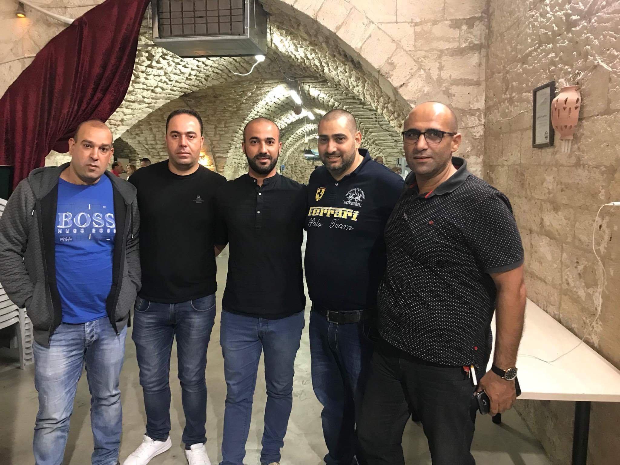 امسية زجلية في الناصرة نظمتها مجموعة  شغف
