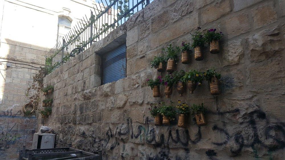 فسحة أمل مبادرة شبابية لتزيين ازقة البلدة القديمة